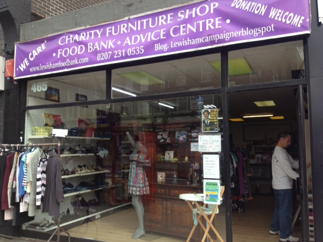More than a food bank: Ray Woolford's Deptford model