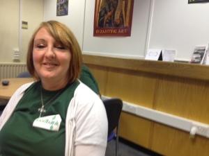 Greenwich food bank volunteer Debbie Angel