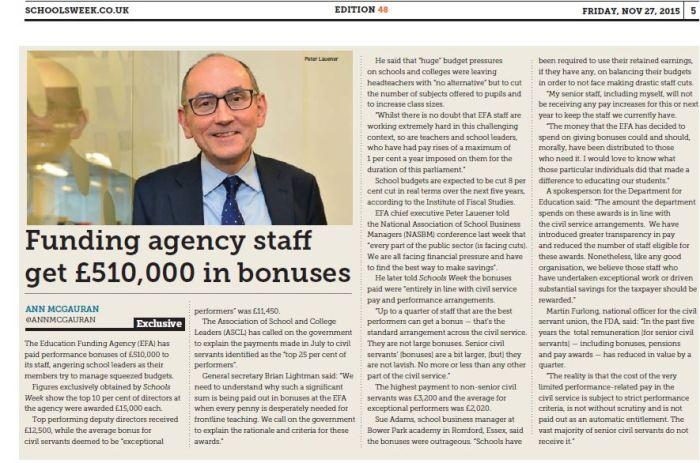 EFA bonuses